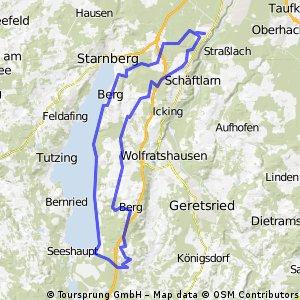 Kleine Starnberger See Runde
