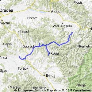 Holod - Lacul Vida - Roşia - Bratca