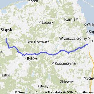 gdańsk - słupsk. podejście drugie