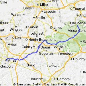 Arras-Mortagne du-Nord