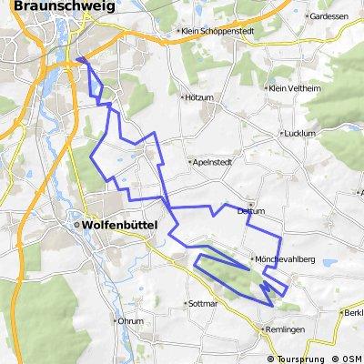 Asse-Bismarckturm-Asseburg-Falkenheim