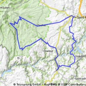 Massif Central 2009 - Tour 4 - Zum Plomb du Cantal