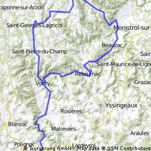 Massiv Cental 2009 - Tour 7 - Gorges de la Loire