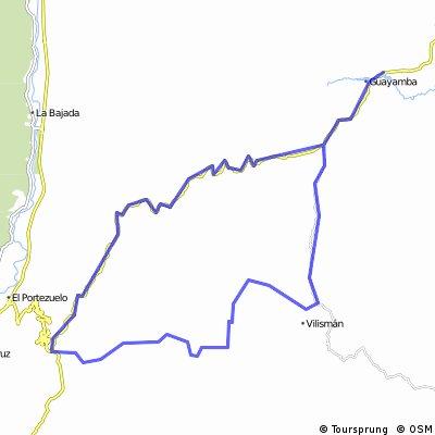 Guayamba - Las Flores - El Portezuelo - Guayamba