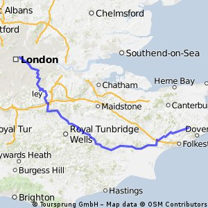 London to Dover