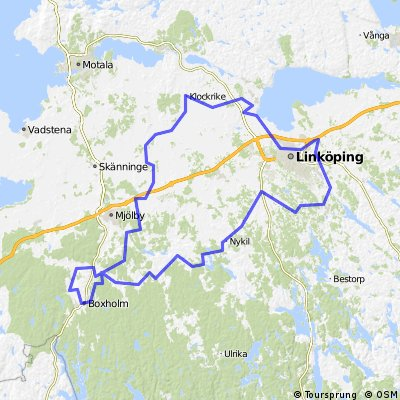 Cycling routes and bike maps in and around Linkping Bikemap