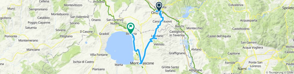 4A Orvieto - Montefiascone - Bolsena