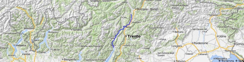 Jeantex Tour Transalp 2007 7. Etappe