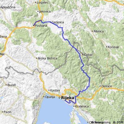 Karyntia - Adriatyk - dzień 4. Wariant D