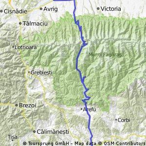 Porumbacu - Transfagarasan - Curtea de Arges