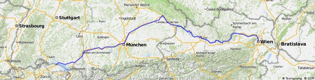 Konstanz - Wien