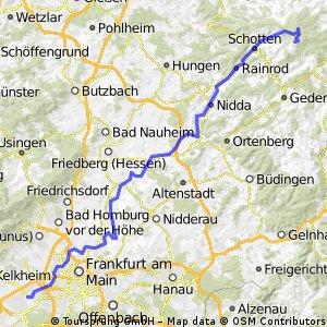 96km Nidda-Radweg