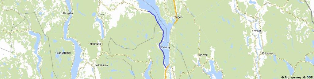 Tottenvika - Minnesund 33 Km
