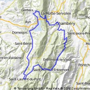 Epine et Granier depuis St Laurent du Pont