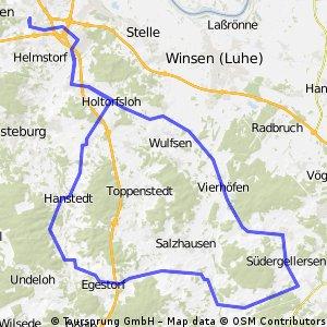 RTF Alpe d'Hittfeld 91km Runde
