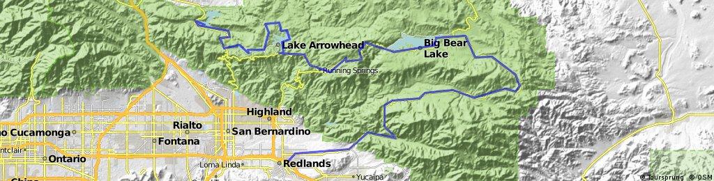 4. Redlands - Silverwood lake
