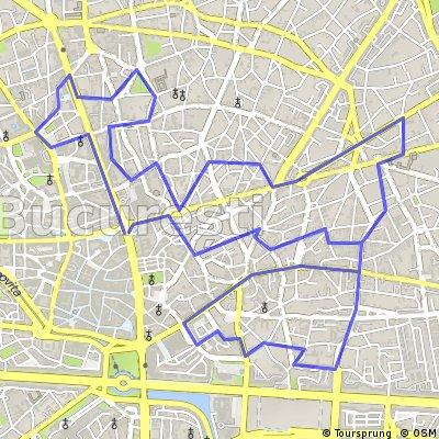 Cu bicicleta prin Bucuresti - traseul 17: Centru - Cartierele Evreiesc si Armenesc - Ateneul Roman