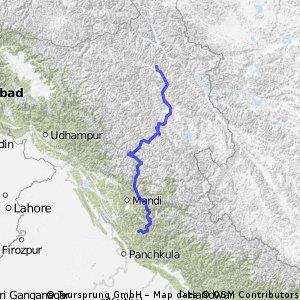 Shimla to Leh