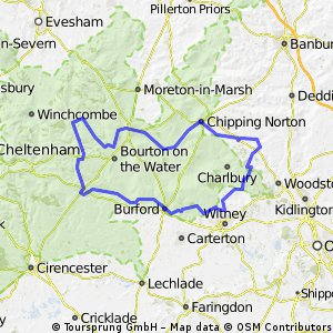 Midweek Tour of the Cotswold