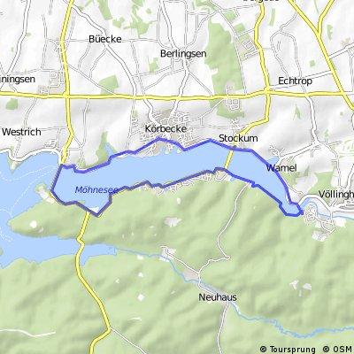 Möhnesee Ufer-Tour