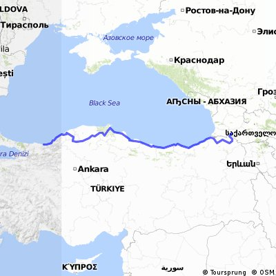 Turkey new shorelıne