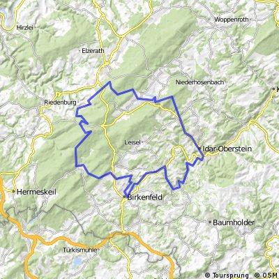 Saar-Hunsrücksteig by Bike (Erbeskopf-I.O.)