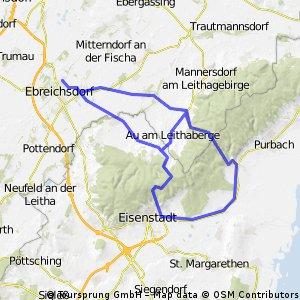 Leithaberg via Eisenstadt