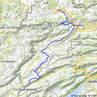 Porrentruy - La Cibourg 07.06.2014 / 2nd Stage
