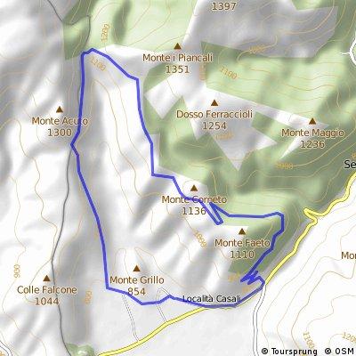 SERRAVALLE (MC) • Monte Minutella - small ring