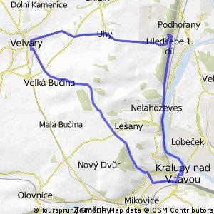 Cyklovýlet z Kralup - Nelahozeves