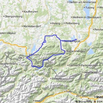 Staffelsee Reutte Füssen Murnau