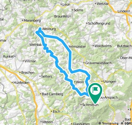 Neu-Anspach - Weilburg - Neu-Anspach