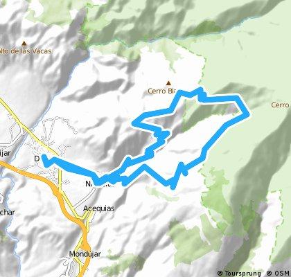 Durcal -Niguelas - La Rinconada - Niguelas - Durcal
