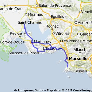 Istres to Marseille