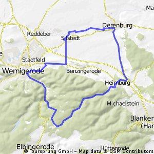 Derenburg - Trecktal -Derenburg