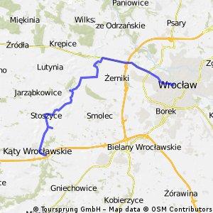 Z Wrocławia do Kątów