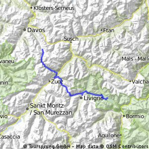 Alpencross 2014 3. Etappe