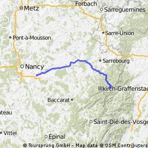 Dombasle - Col de l'Engin