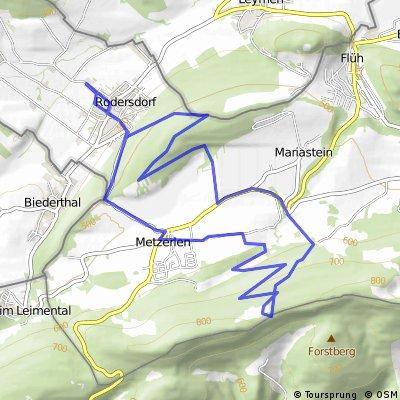 15km MTB Metzerlerchrütz&Downhill