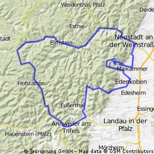 Johanniskreuz Pfälzer Wald / Weinstraße 29.07.2009 von 264182