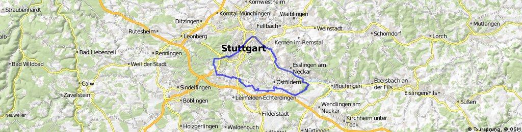 Hasenbergsteige- Körschtal- Neckartal
