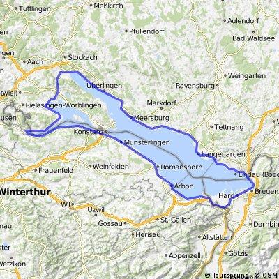 Meersburg - Konstanz