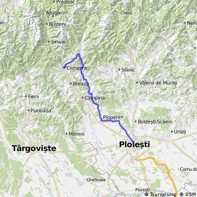 Comarnic -Tesila-Baraj Paltinu - Valea Doftanei - Brebu - Telega - Ploiesti
