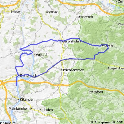 vom Main zum Steigerwald
