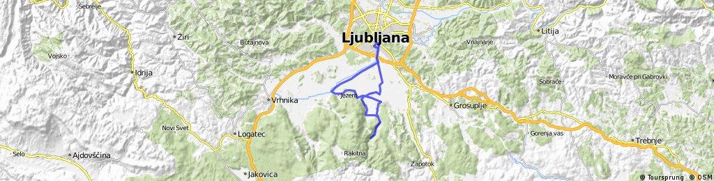 Iška with Ljubljansko Barje Nature park