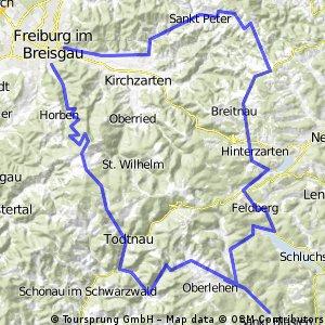 Schauinsland Feldberg Thurner