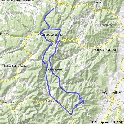 02-route 123km 2015hm  Le Grand Ballon