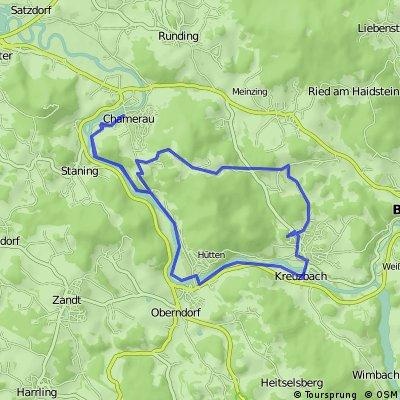 Chamerau - Roßberg - Blaibach - Chamerau