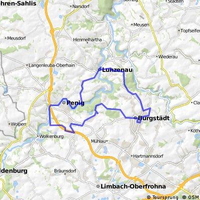 Bilz-Rad-Tour Hauptroute (2014)