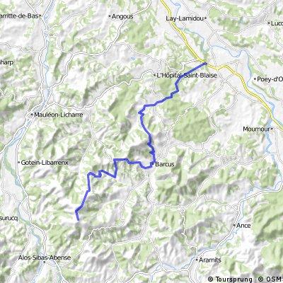 trail préchacq-josbaig / la madeleine